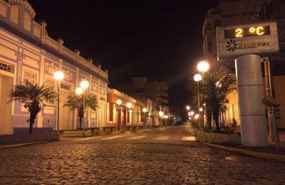 Mínima foi registrada em cidades como São José dos Ausentes